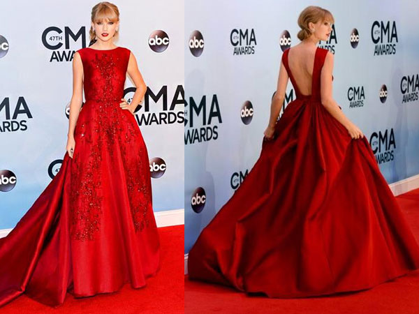 Taylor Swift Gowns